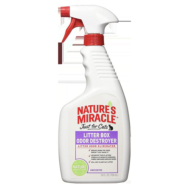 Средство для нейтрализации запахов в кошачьих туалетах Natural's Miracle - Litter Box Odor Destroyer